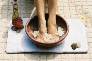 Essential Oil Foot Bath